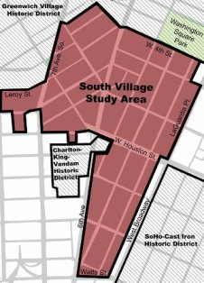 South Village Map